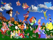 All Disney Cartoon Characters