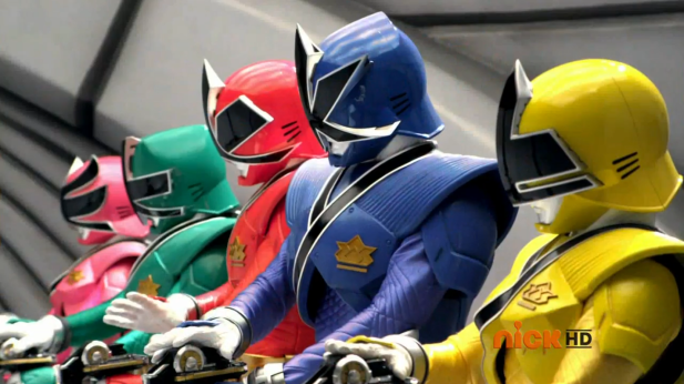 Power Rangers Samurai Screen Shot