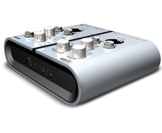 Alesis IO 2 Product Angle Side View