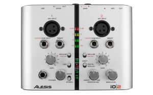 Alesis IO|2 Product Angle Top View