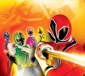 Power Rangers Samurai Rangers 3