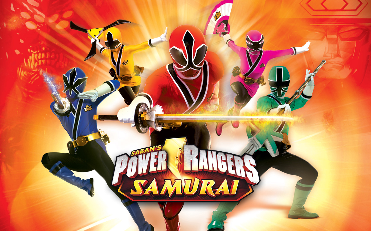 games power rangers samurai