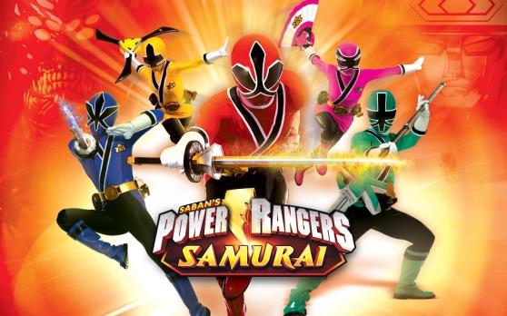 Power Rangers Samurai Wallpaper