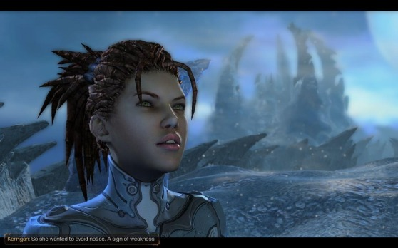 Heart Of The Swarm Characters: Sarah Kerrigan