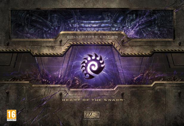 StarCraft II: Heart Of The Swarm Boxshot