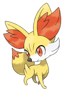 Pokemon X and Y Starter - Fennekin
