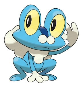 Pokemon X and Y Starter - Froakie