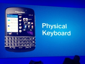 BlackBerry Q10 Features