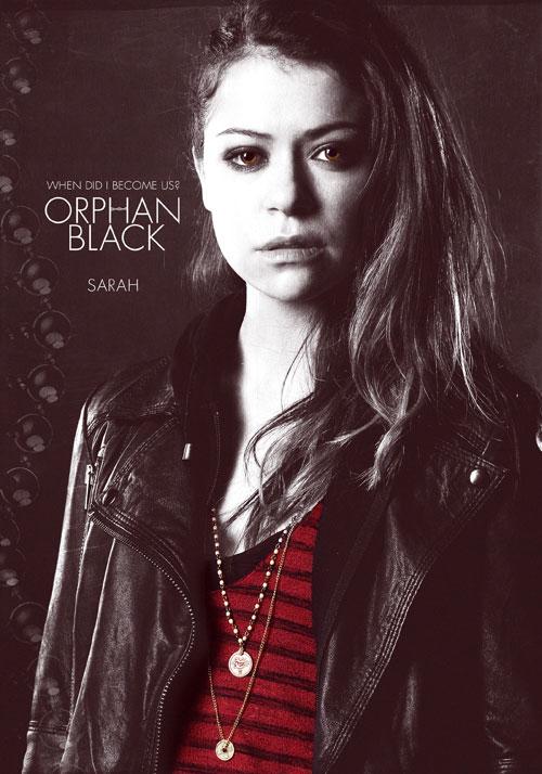 Orphan Black Poster Sarah Manning   The Ha...