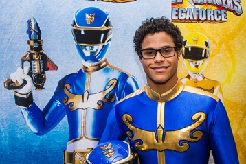 Power Ranger MegaForce Blue